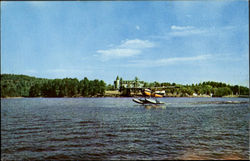 Seaplane Leaving Naples Postcard