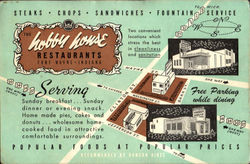 Hobby House Restaurant Postcard