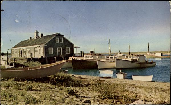 Fish Pier, Chatham Cape Cod Massachusetts