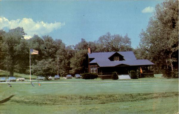 The Club House Of The Otsego Golf Course New York