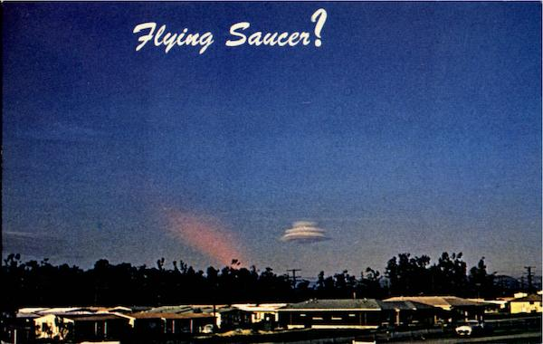 Flying Saucer? Aircraft