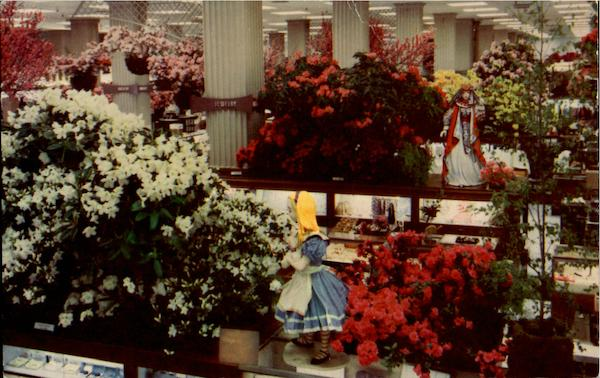 Macy'S Annual Easter Flower Show San Francisco California
