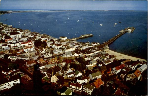 Provincetown Harbor Cape Cod Massachusetts