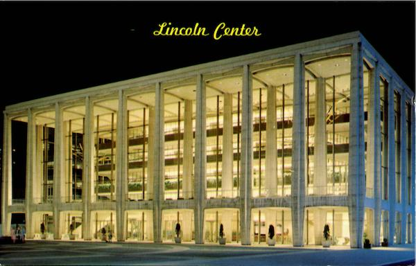 Lincoln Center Philharmonic Hall New York City