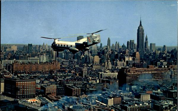 New York Airways Helicopter Aircraft