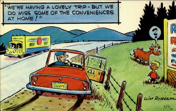 Having a Lovely Trip Comic, Funny