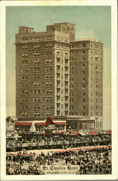 The St.Charles Hotel Atlantic City New Jersey