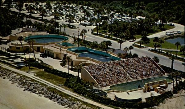 Air View Of Marineland Of Florida Amusement Parks
