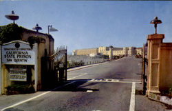 Main Gate To San Quentin Prison
