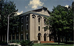 Carroll Library And Gardiner Auditorium