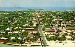 Aeriel View Of The Key West, Florida