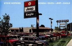 Steve Hopkins Honda-Isuzu-Jeep-Eagle, 2499 Magellan Road Postcard