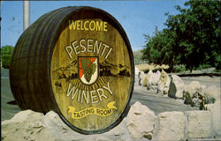 Pesenti Winery Tasting Room