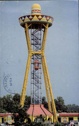 Sombrero Tower, U.S. Highways 301 501 Postcard