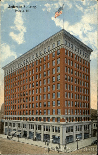 Jefferson Building Peoria Illinois