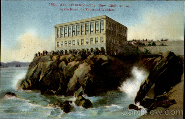 The New Cliff House San Francisco California