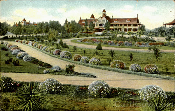 Barracks Buildings And Park Soldier's Home California