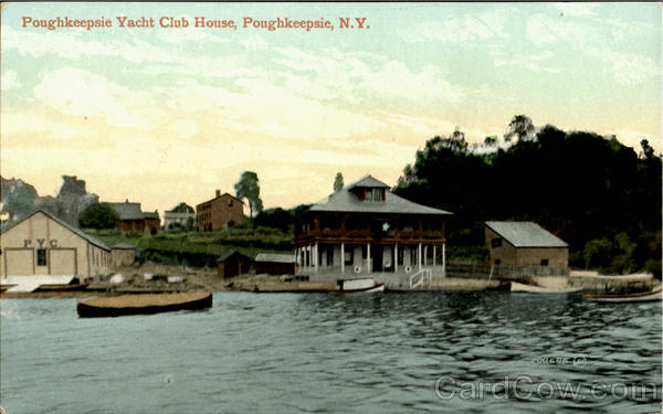 Poughkeepsie Yatch Club House New York