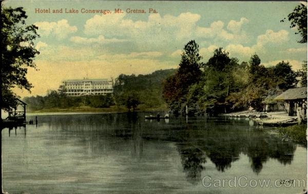 Hotel And Lake Conewago Mount Gretna, PA