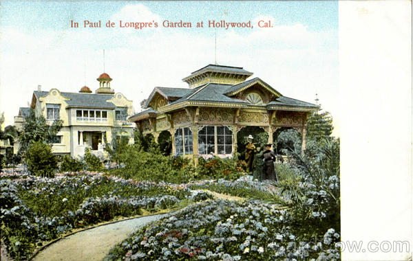 In Paul De Longpre'S Garden Hollywood California
