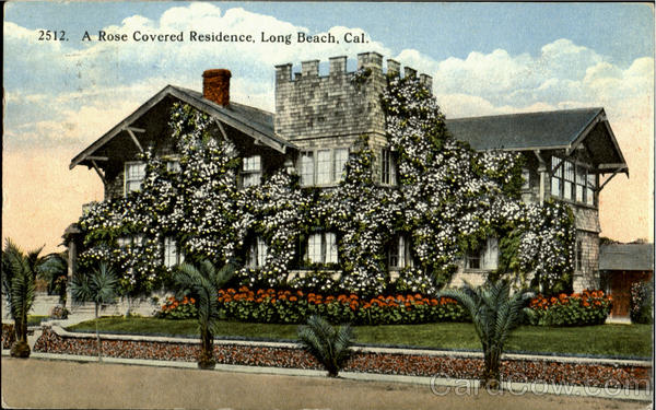 A Rose Covered Residence Long Beach California