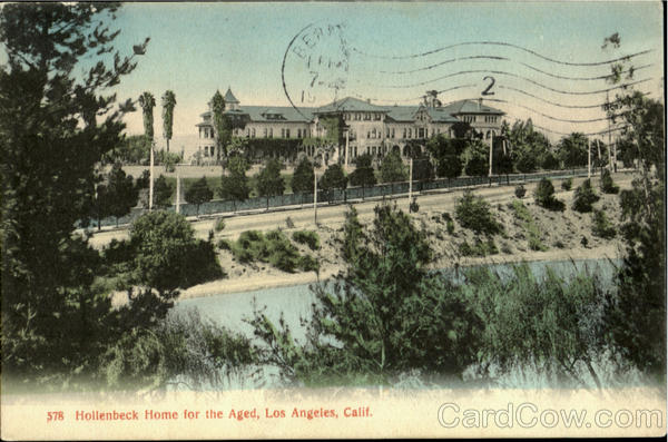 Hollenbeck Home For The Aged Los Angeles California