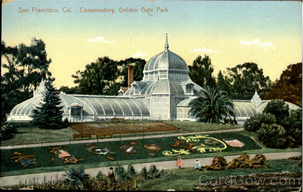 Conservatory Golden Gate Park San Francisco California