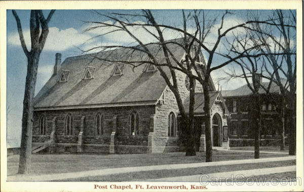 Post Chapel Fort Leavenworth Kansas