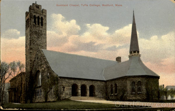 Goddard Chapel, Tufts College Medford Massachusetts