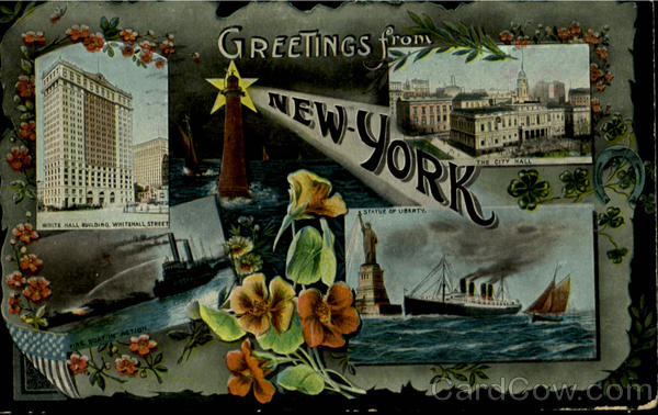 Greeting From New York New York City