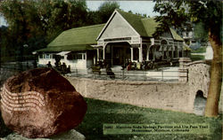 Manitou Soda Springs Pavilion And Ute Pass Trail Monument