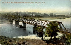 Bridge Across The Clear Water River At Lewiston