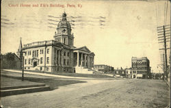 Court House And Elk'S Building