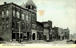 South Side Square Postcard