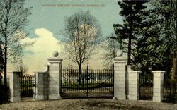 Riverview Cemetery Entrance