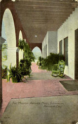 The Mission Arches Hotel Guirnalda Postcard