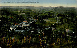 Bird'S Eye View Of Placerville