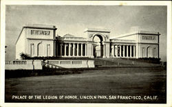 Place Of The Legion Of Honor, Lincoln Park