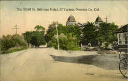 The Road To Bellevue Hotel, El Verano