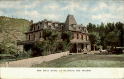 The Main Hotel At Klamath Hot Springs