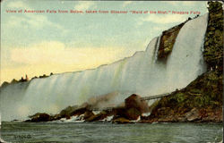 View Of American Falls From Below, Taken From Steamer Maid Of Mist,