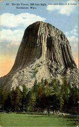 Devils Tower, 800 Feet High