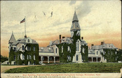 Main Building, Anderson Hall, Kansas Agricultural College