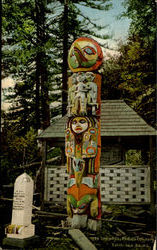 1989 Totem Pole Indian Cemetery