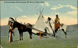 Ponca Indians Honeymoon, 101 Ranch