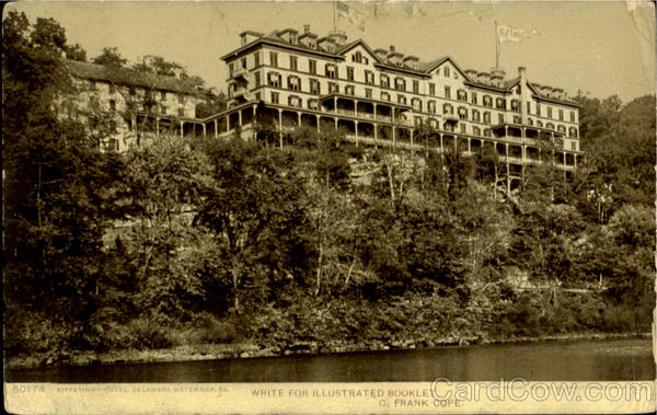 Kittatinny Hotel Dealaware Water Gap Pennsylvania