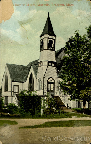 Baptist Church,Montello Brockton Massachusetts