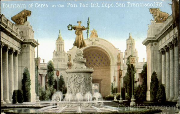 Fountain Of Ceres San Francisco California