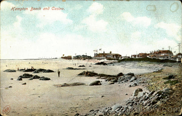 Hampton Beach And Casino New Hampshire