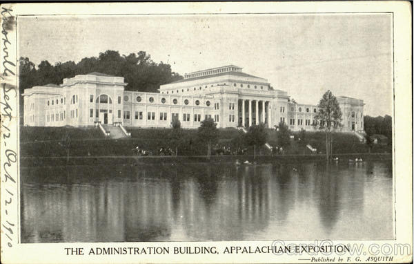 The Administration Building, Appalachian Exposition
